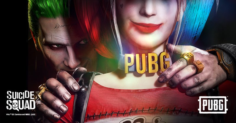 Wreak Havoc With New Joker And Harley Quinn Skins In PUBG