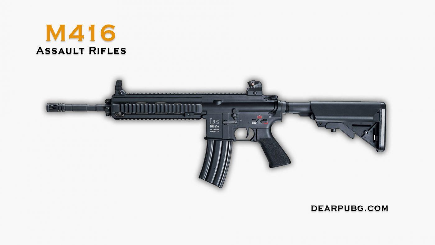 Pubg Assault Rifle M416