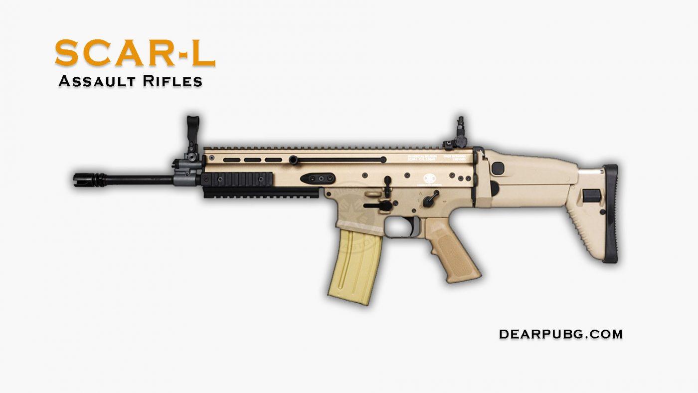 Pubg Assault Rifle Scar-L
