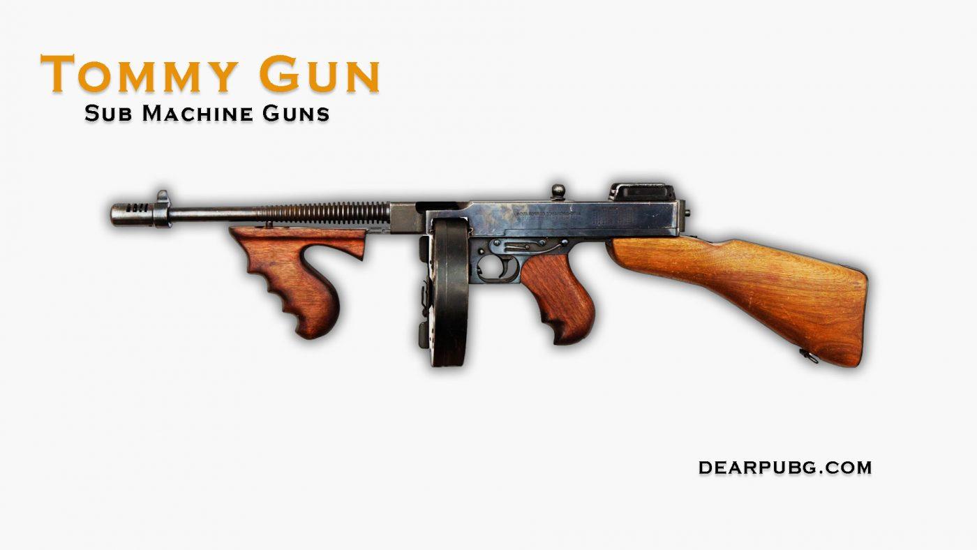 Pubg Handgun Tommy Gun