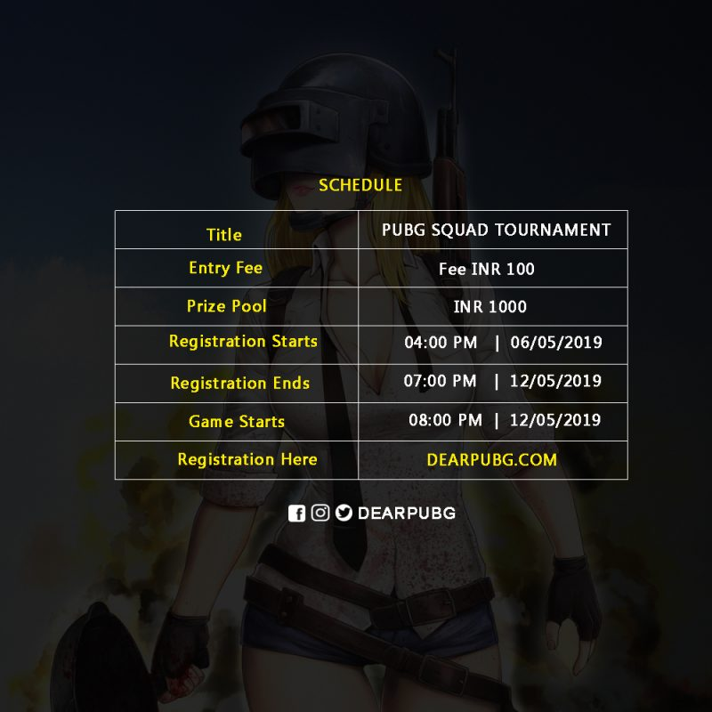 Dear Pubg Tournament